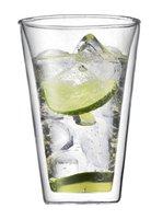 Bodum Canteen Double Wall Tumbler/DOF/Cooler/Beer Glasses coffee mug 400ml, Set of 2,Double Wall Espresso Glass mug ,Freeship