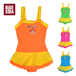 Free Shipping - Wholesale Girls' Swimsuit,Children Swimwear,Girl's Bikinis, Kids Beachwear(China (Mainland))