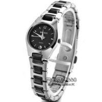 Fashion brief calendar women's watch steel strip commercial lady watch quartz watch