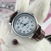 Fashion brief women's vintage watch strap ladies watch student table fashion table