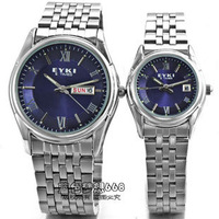 Ikey commercial fashion lovers watch lovers table a pair of male women's spermatagonial luminous pointer