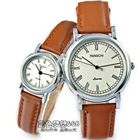 Vintage roman numerals strap male women's lovers watch fashionable casual spermatagonial