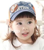 Spring and autumn 52 child cap baby sunbonnet male female child baseball cap