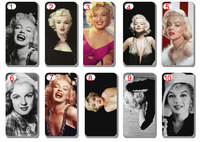 New Marilyn Monroe hard back case cover for iphone 5 5g 5th free shipping 10pcs/lot