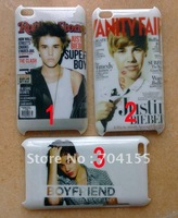 Justin Bieber hard case for ipod touch 4 4G 4TH 10pcs/lot free shipping