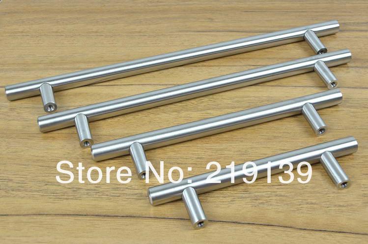 480 mm t forme meubles cabinet porte en acier inoxydable for Poignee de porte meuble cuisine