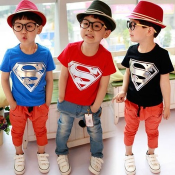 5 pcs/lot NEW Arrival Children Kids Clothing Boys T Shirt Short Sleeve Summer Wear Sports Design AA5261