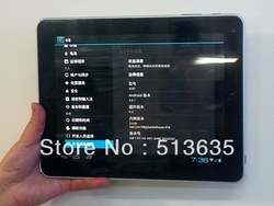 Android 2.3 table pc with super wide 9.7 inch capacitive screen +wifi+3G+Dual cameras+16GB had disk+1GB RAM(China (Mainland))