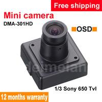 "650TVL HD Mini OSD RC Video Camera Full Color 1/3"" SONY CCD"
