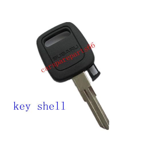 Free Shipping! Wholesale Price 40pcs/lot New Subaru tranponder key shell(China (Mainland))