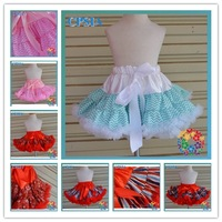 New Arrival Chevron Pettiskirt  fluffy pettiskirts for girls Hot !! Posh  Chevron petti coat   24pcs /lot