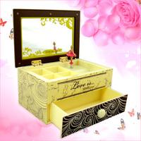 Gift makeup mirror jewelry box ballet music box music box girl birthday gift 4