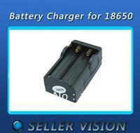 2 * Ultrafire 18650 3.7V/4.2v  Rechargeable li-ion Battery Travel Charger+1x EU Plug flash lamp DHL