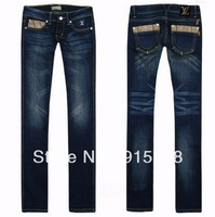 2013 new noble and generous dark low-waist women straight jeans , -98