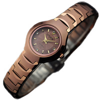 Otumn women's waterproof watch tungsten steel quartz ladies watch commercial waterproof diamond