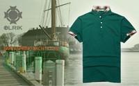 Free shipping Brand New Fashion 100% Cotton POLO Men's Shirt Short Sport T Shirt  casual POLO shirt for men Large Size  XXXL