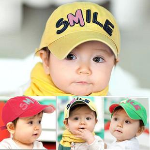 Bonnet candy color child cap baseball cap sun hat