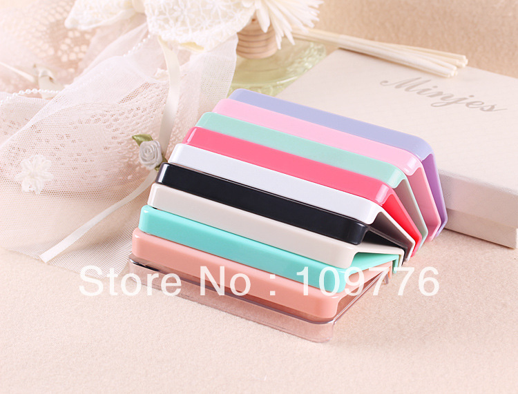 Free Shipping  White Blank Hard Cell Phone Case For iPhone4 Or iPhone 4S 6PCS/LOT 10 different colors