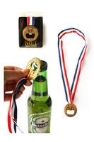 free shipping Bottle opener awardan beer bottle opener gold medal , bottle opener  full  15 dollars