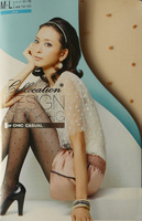 Silk stockings wholesale BK0040 bikini dot core-spun yarn jacquard lady pantyhose tights