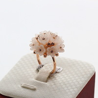 Limited edition ITALINA acrylic flower ring Free Shipping Fashion Index Finger Ring for Sale