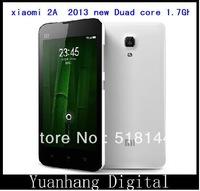 New Arrival! 2013 xiaomi 2A Duad core phone Qualcomm Duad core 1.7Ghz 1GB+16GB 1280 *720px 8MP Android4.1 GPS WIFI FM TV