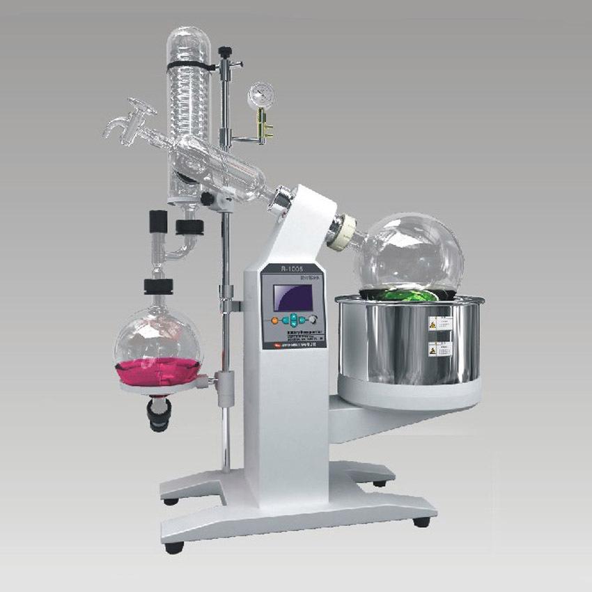 Установка для термовакуумного испарения R-1005 rotary evaporator