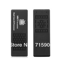 Free shipping Dual Core Android 4.1 MK808 TV BOX Mini PC stick Thumb Rockchip RK3066 HDMI A9
