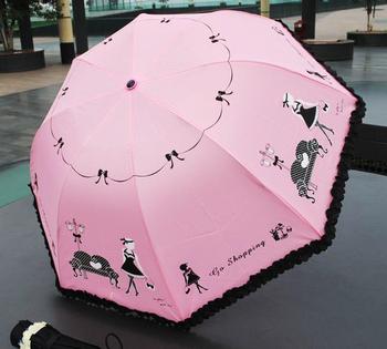 Free Shipping 2015 Mushroom Umbrellas For Rain&Sun Sale