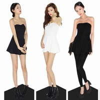 2013 women's sty nda tube top dress basic one-piece dress female