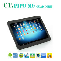 "Pipo M9 RK3188 Quad Core 10"" Tablet PC IPS Screen 2G RAM 1.8GHZ Android 4.1 Dual Camera 16GB Bluetooth"