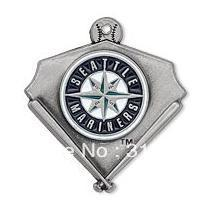 Free shipping 10PCS single-sided Seattle Mariners charm pendant jewelry(H103921)