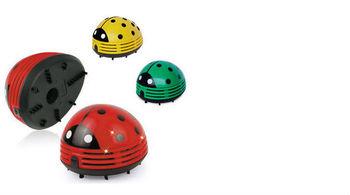 Very cute! Mini ladybug handheld vacuum cleaner desktop car New Red