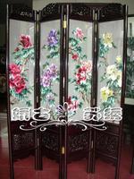 Quality suzhou embroidery screen handmade embroidery crafts double faced embroidery screen