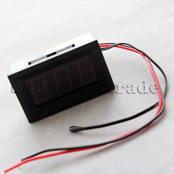 OPHIR Digital Red LED Thermometer DC Digital Panel Meter Board Adjustable Voltage Meters_KD027