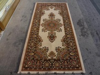 Luxury fashion 100% pure wool carpet 100cm x200cm