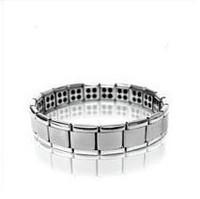Gift 80 germanium titanium silver bracelet titanium germanium bracelet anti radiation