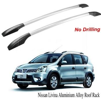 Fit Nissan Livina Aluminium Alloy Roof Rack Car-top Racks No Drilling 1.6m