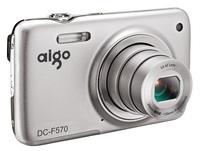 8g card chauvinist aigo f570 professional household digital camera hd domestically made 5 light bag
