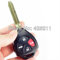 4 Buttons Remote Key Shell Case For TOYOTA RAV4 CAMRY