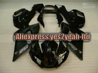 TOP Fairing For YAMAHA 1998 2002 YZF-R6 YZF R6 YZFR6 R6 98 99 00 01 02 1998 2002 ALL gloss blk kit