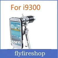 New arrival 12x Zoom optical Telescope Camera telephoto Lens with tripod For for Samsung Galaxy s3 i9300