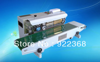 100% warranty FR-900 Continuous band sealer+date printing+new arrives+stainless steel