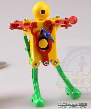 Classic wind up clockwork toys super robot