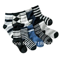 20 pairs/lot free shipping Hot-selling 100% cotton children socks student socks kids socks boys socks (19-23cm)