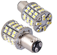 2 1157 2057 T25 60 SMD LED Car Tail Brake Light Bulb Lamp free shipping