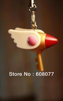 Cardcaptors Cardcaptor Sakura Sakura Kinomoto Key of Dark*Dark KEY Bird Sealing wand Key Length 3.5 cm