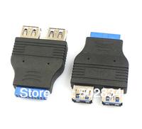 """USB кабель 5pcs/lot 20 2 USB 3.0 3.5"""" 50"""
