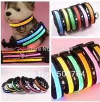 Glow Cat Dog Pet Flashing Light Up Safety Collar Luminous LED Pet Collar, 6 colors choice,5pcs/lot freeshipping