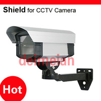 Outdoor Security CCTV Camera Aluminum Shield Housing w/ Bracket